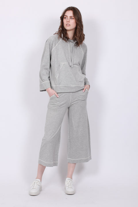 Eugenie Micro Terry - Light Grey Melange
