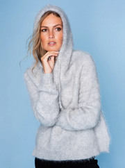 Ricky Mohair Sweater - Grey
