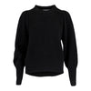 Kelsey Knit Blouse - Black - Neo Noir - Gensere - VILLOID.no
