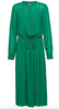 Annabel soliddress - Green - Line of Oslo - Kjoler - VILLOID.no