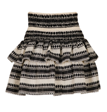 Carin Stitch Skirt Black