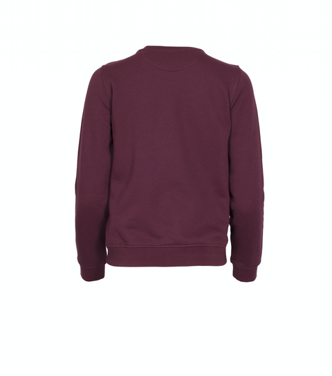 Gift Giving Logo Sweat - Purple Fig