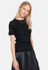 Wool Wide T-shirt - Black - Pierre Robert x Jenny Skavlan - Topper - VILLOID.no
