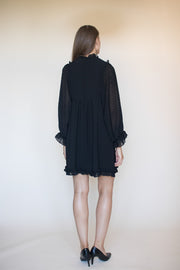 Colette short soliddress - Black