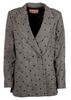 Nova Blazer - Sequin Check - Billie & Me - Jakker - VILLOID.no