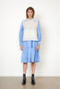 Elsa Knit Vest - Brunnera Blue