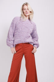 Loop Knit - Lavender Fog