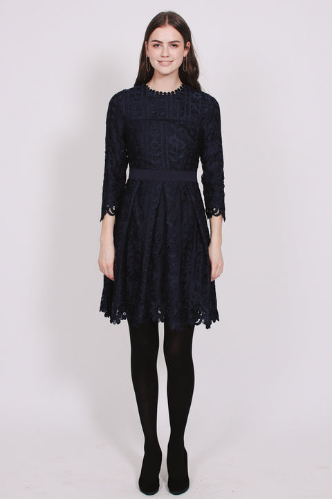 Ginger dress - Dark Blue