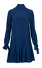Cherry Dress - Midnight Blue Crepè (1476725800995)