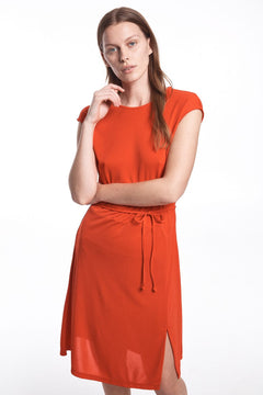 Harper Sleeveless - Bright Red (1795332538403)