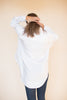 Masculin solidshirt - White - Line of Oslo - Topper - VILLOID.no