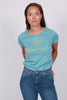 Color Lock Up SS T-shirt - Seafoam Blue - GANT - Topper - VILLOID.no