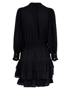 Bimba Gauze Dress - Black
