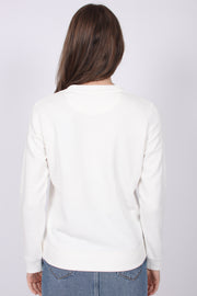 Gant Lock Up C-neck Sweat - Eggshell