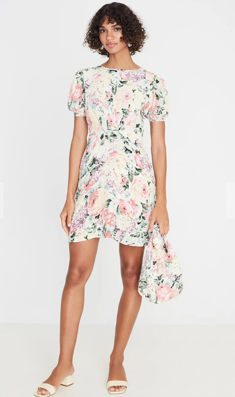 Sidonie Mini Dress - Venissa Floral Print