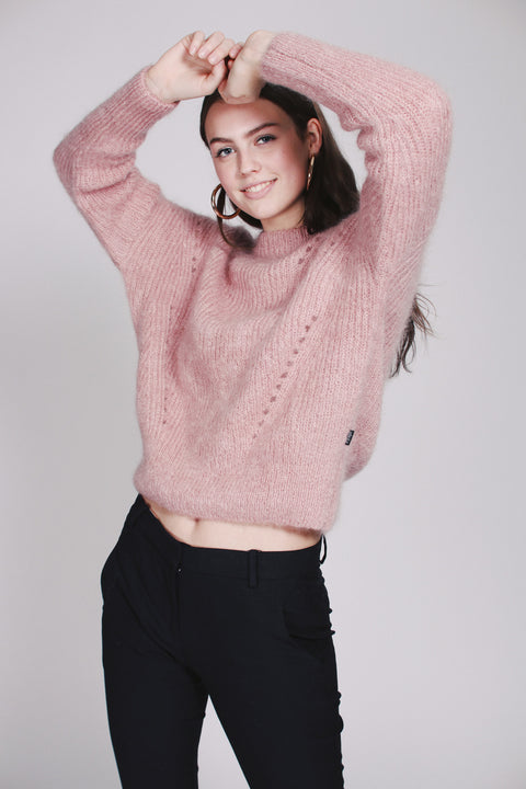 Beatrice Chunky Knit - Pink (1476717445155)