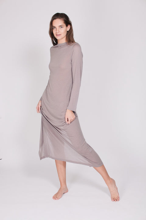 The Sweater Dress - Stone (1476729569315)