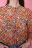 Bloom Blouse - Blazing Orange - Second Female - Bluser & Skjorter - VILLOID.no