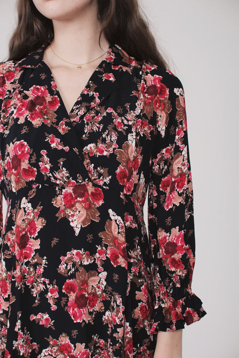 Printed dress - Rose tapestry