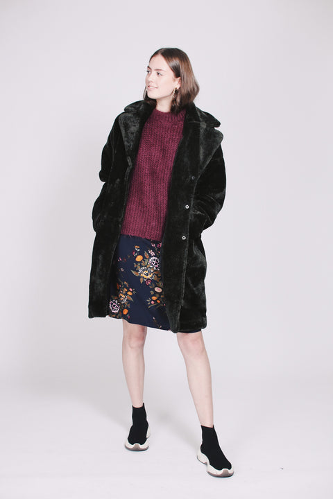 Myra Coat - Rifle Green (1476722655267)
