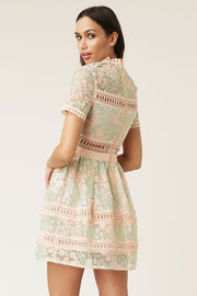 Rose Dress - Pastel Flower