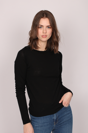 Day Whitney Sweater - Black (4319499321453)