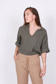 BrizaIW Shirt - Beetle Green