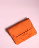 Envelope Small Clutch - Suede-firecracker - MAUD - Tilbehør - VILLOID.no