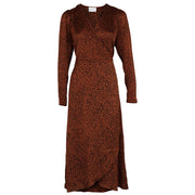 Adda New Leo Dress - Copper