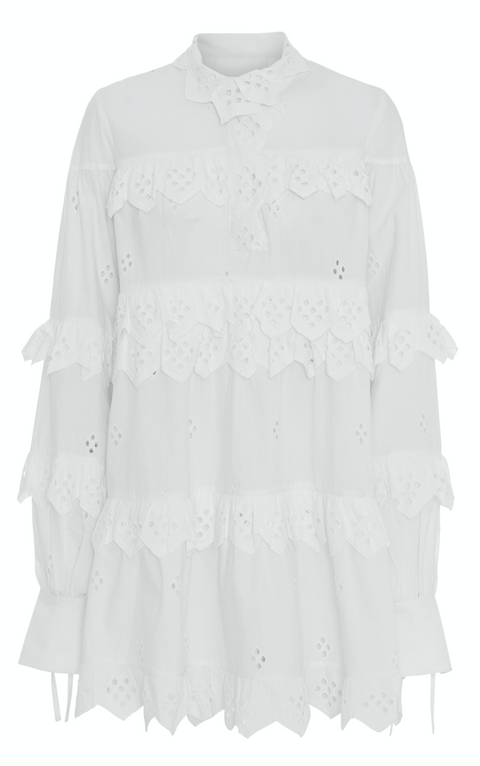 2ND Edition Poppy Dress - Bright White