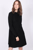 Cecilie Merino Dress - Black - Ella & il - Kjoler - VILLOID.no