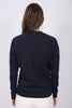 Gant Shield Logo C-neck Sweat - Evening Blue - GANT - Gensere - VILLOID.no