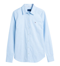 Stretch Oxford Solid - Light Blue