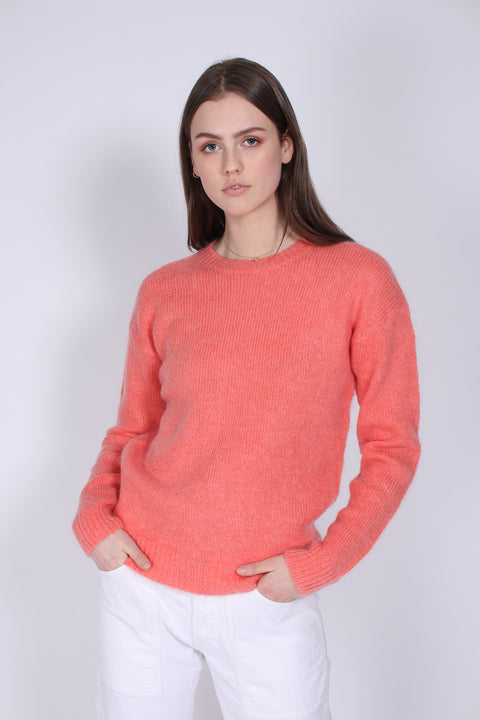 Ella Round Neck - Porcelain Rose (4410356039789)