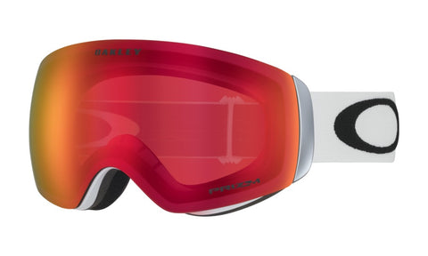 Flight Deck XM Matte White - Prizm Torch Iridium - Goggles (4326391349357)