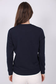 Gant Lock Up C-neck Sweat - Evening Blue