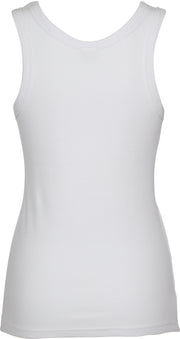 Cotton Rib Singlet - Natural