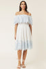 Layla Dress - Ocean Blue - By Malina - Kjoler - VILLOID.no