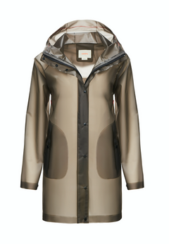 Basel Raincoat - Graphite