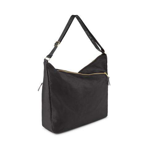 Day Double Zip Hobo - Black