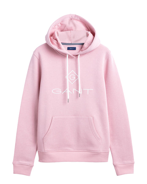 Gant Lock Up Sweat Hoodie - Summer Rose