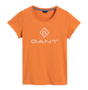 Gant Lock Up SS T-shirt - Amberglow - GANT - Topper - VILLOID.no