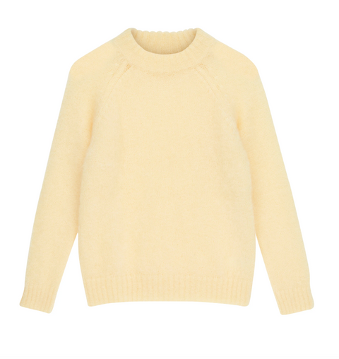 Monty Sweater - Mellow Yellow