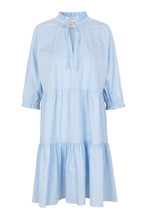 Amira Dress - Chambray Blue