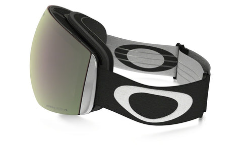 Flight Deck Matte Black - Prizm Black Iridium - Goggles (4455169589357)