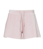 Beach Terry Solid Shorts - Pink