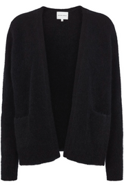 Brook Knit Short Cardigan - Black