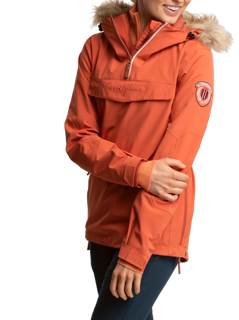 Finse 2-Lags Anorakk - Orange