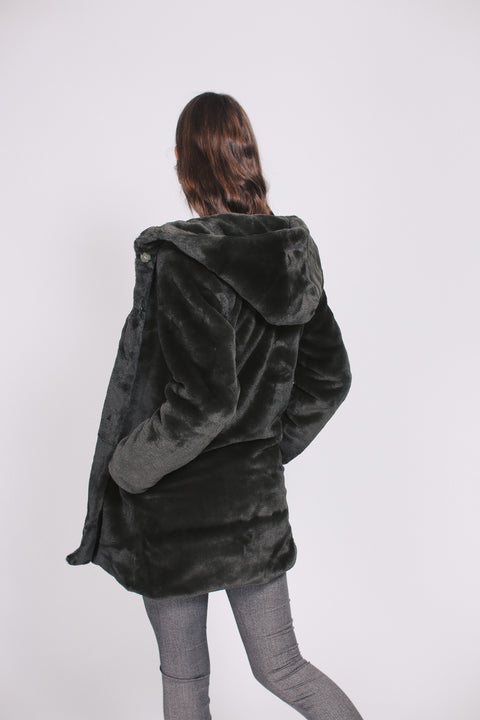 Chloe hood jacket - Green