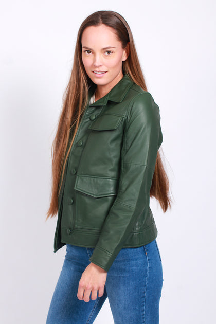 Camilo Jacket Dark Green | Lulushop